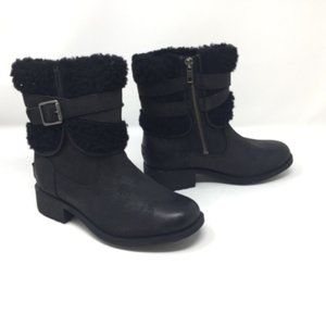 UGG Blayre Boot III Black With Fur Size 5